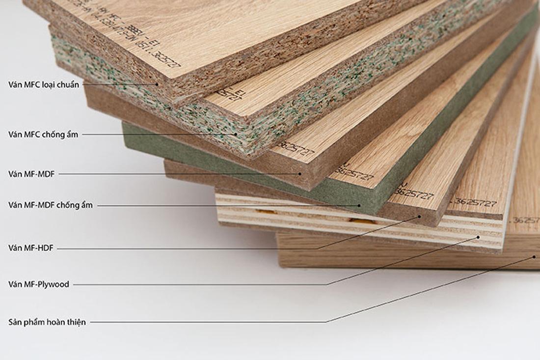 Nội thất gỗ công nghiệp là gì