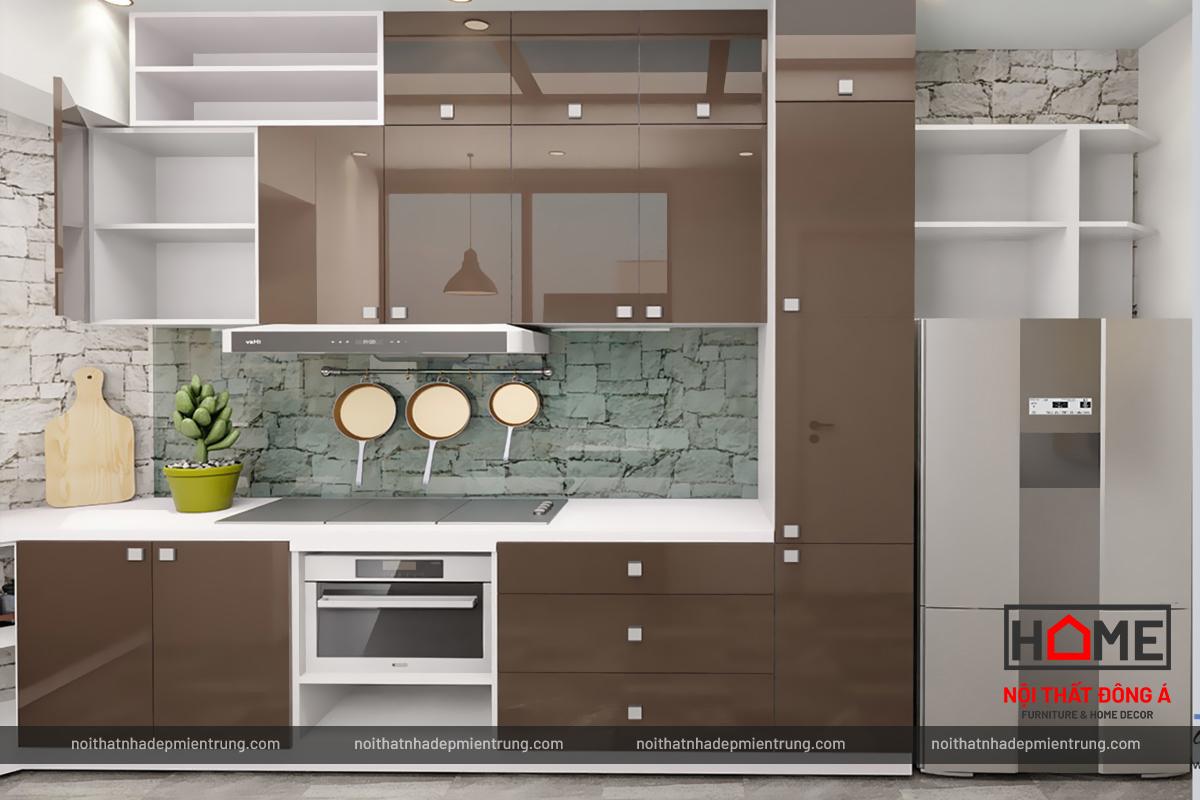 Thiết kế thi công nội thất bếp tại Nghệ An