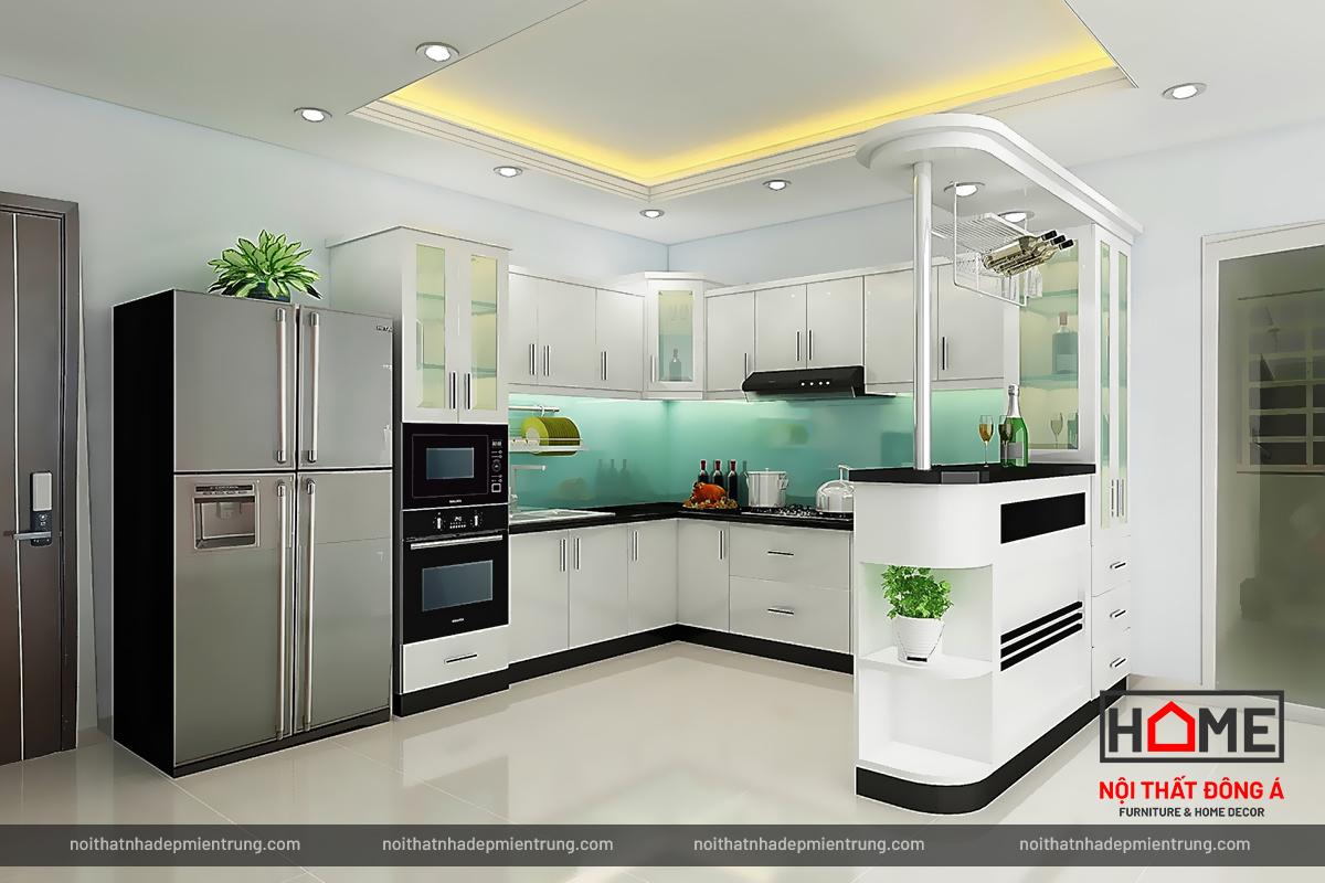 Nội thất phòng bếp hiện đại tại Nghệ An